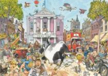 JUMBO WASGIJ 12: Chaos na tržišti - 1000 dílků