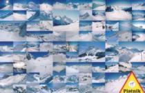 PIATNIK 1000 dílků - Rakouské hory v zimě