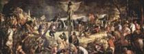 EDITIONS RICORDI 2000 dílků - Tintoretto, Ukřižování Krista