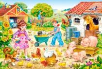 CASTORLAND 40 dílků - Farma
