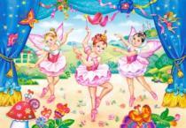 CASTORLAND 40 dílků - Malé baletky