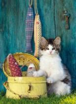 CLEMENTONI 500 dílků - Kotě