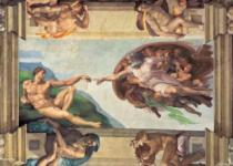 CLEMENTONI 6000 dílků - Stvoření Adama