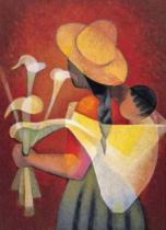 EDITIONS RICORDI 1000 dílků - Toffoli, Prodavačka květin