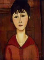 EDITIONS RICORDI 1500 dílků - Modigliani, Portrét mladé dívky