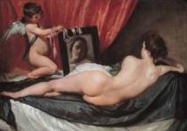 EDITIONS RICORDI 1500 dílků - Velázquez, Venuše v zrcadle