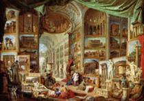 EDITIONS RICORDI 2000 dílků - Pannini: Pohled na antický Řím
