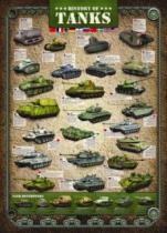 EUROGRAPHICS 1000 dílků - Historie tanků