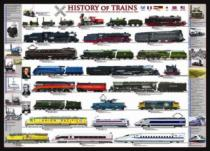 EUROGRAPHICS 1000 dílků - Historie vlaků