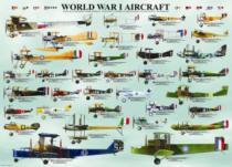 EUROGRAPHICS 1000 dílků - Letadla 1. světové války