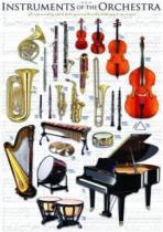 EUROGRAPHICS 1000 dílků - Nástroje orchestru