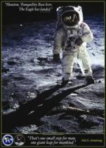 EUROGRAPHICS 1000 dílků - Neil A. Armstrong: První kroky na Měsíci
