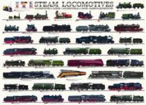 EUROGRAPHICS 1000 dílků - Parní lokomotivy