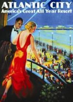 EUROGRAPHICS 1000 dílků - Plakát: Atlantic City