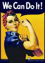 EUROGRAPHICS 1000 dílků - Plakát: Rosie