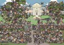 HEYE 1000 dílků - Kde je Elvis?: Graceland