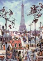 HEYE 1000 dílků - Loup, Eiffelova věž
