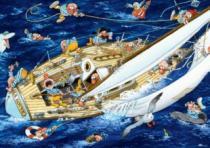 HEYE 1000 dílků - Loup, Námořníci