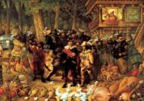 HEYE 1000 dílků - Michael Ryba, Rembrandt