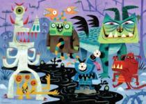 HEYE 1000 dílků - Monsters! : Země příšer