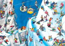 HEYE 1000 dílků - Roger Blachon, Snowboardy
