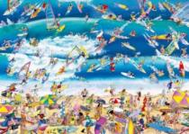 HEYE 1000 dílků - Roger Blachon, Surfování