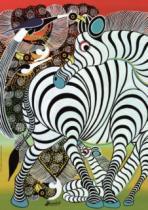 HEYE 1000 dílků - Tinga Tinga: Zebra