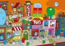 HEYE 1000 dílků - UGLYDOLL: Uglytown