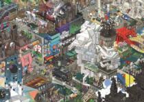 HEYE 1500 dílků - eBoy, Paříž , Triangular