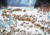 HEYE 2000 dílků - Loup, Napoleonovo vojsko v zimě