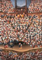 HEYE 2000 dílků - Loup, Orchestr , Triangular