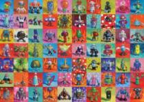 HEYE 2000 dílků - Stinson, Roboti , Triangular