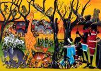 HEYE 2000 dílků - Tinga Tinga: Obyvatelé