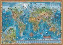 HEYE 3000 dílků - R.Zigic, Úžasná mapa světa