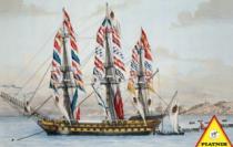 PIATNIK 1000 dílků - Archimedes - rakouská plachetnice