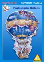 PIATNIK 1000 dílků - David Wenzel, Fantastické balóny