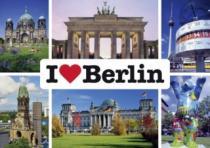 SCHMIDT 1000 dílků - Miluji Berlín