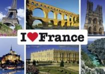 SCHMIDT 1000 dílků - Miluji Francii