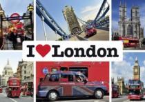 SCHMIDT 1000 dílků - Miluji Londýn