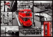 TREFL 1000 dílků - Londýn - koláž