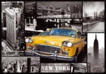 TREFL 1000 dílků - New York - koláž
