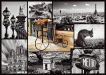 TREFL 1000 dílků - Paříž - koláž