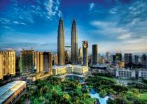 TREFL 2000 dílků - Petronas Twin Towers