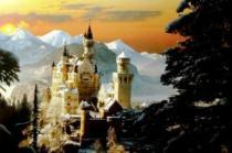 TREFL 3000 dílků - Neuschwanstein v zimě, Německo