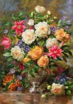 TREFL 4000 dílků - A.Williams: Květiny pro královnu Alžbětu