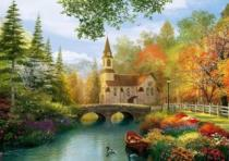 TREFL 4000 dílků - D. Davison: Podzimní nostalgie