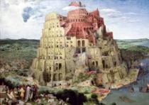 TREFL 4000 dílků - Pieter Bruegel: Babylonská věž