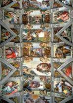 TREFL 6000 dílků - Michelangelo: Strop Sixtinské kaple