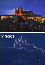 DINO Svítící 1000 dílků - Večerní Praha