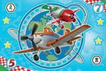 TREFL Svítící Magic Decor: Letadla 15 dílků